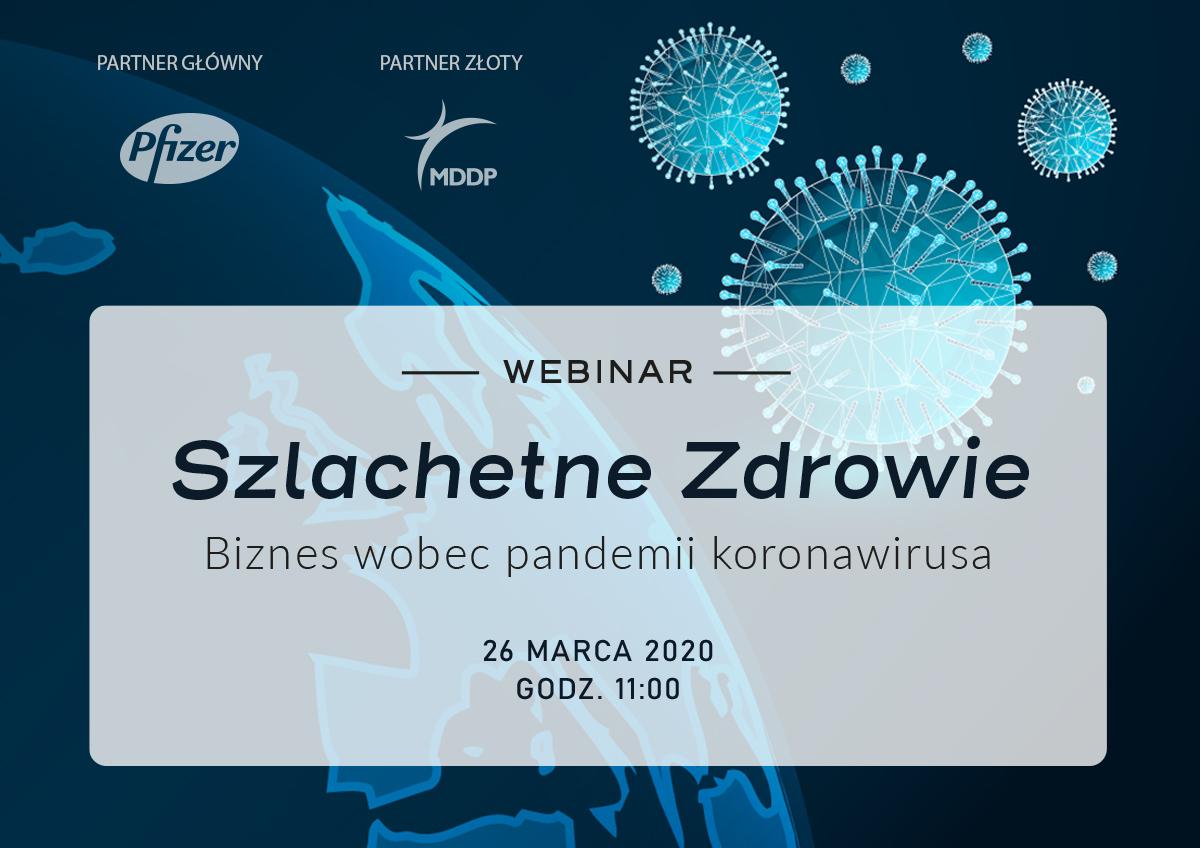 baner Webinar Szlachetne Zdrowie PL
