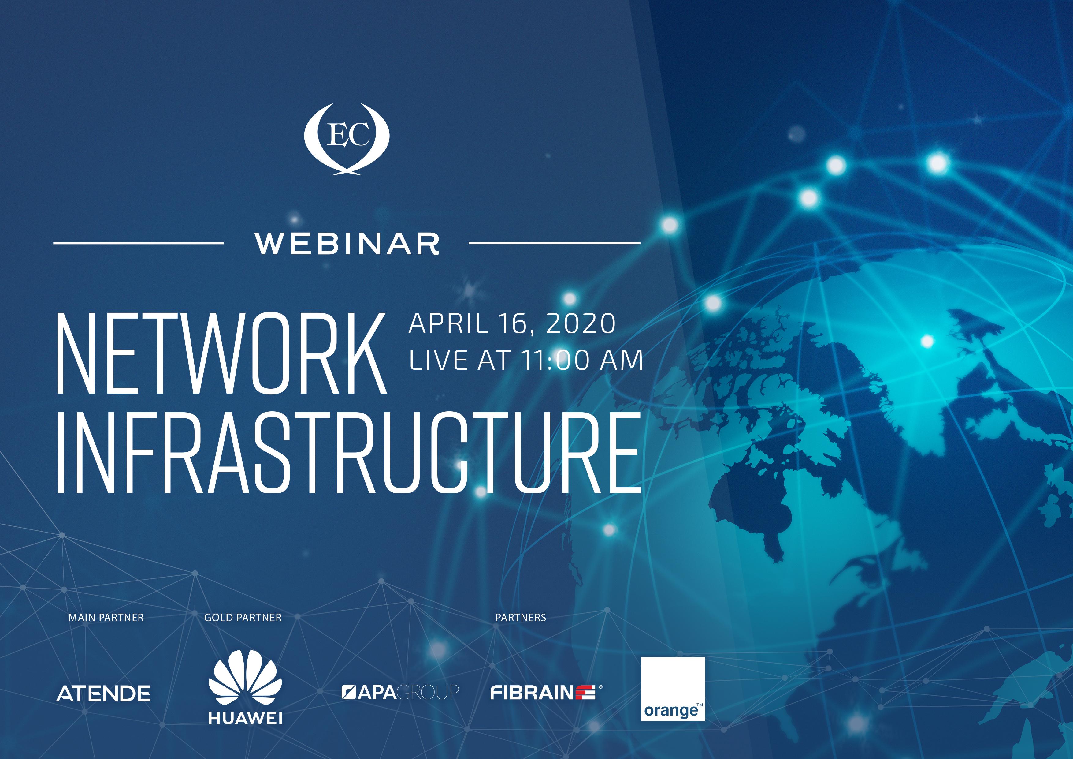 Baner Infrastruktura sieci EN